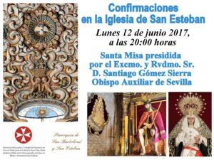 Confirmaciones en San Esteban